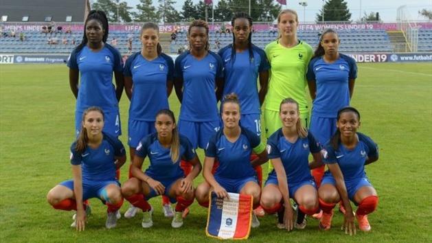 Le onze français (photo UEFA.com)