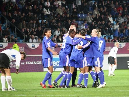 Une pluie de buts pour les Bleues, au Havre