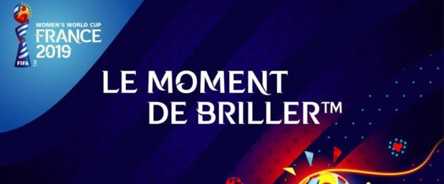 """Coupe du Monde 2019 - """"Le moment de briller"""", le slogan et l'emblème dévoilés"""