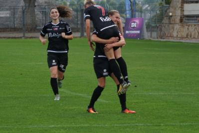 Robert avait ouvert le score pour les Bretonnes (photo footofeminin.fr)