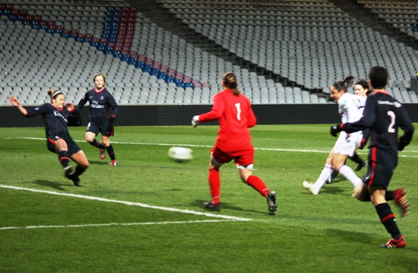 Brétigny égalise à la 93e minute et arrache le nul (photo : Sébastien Duret)