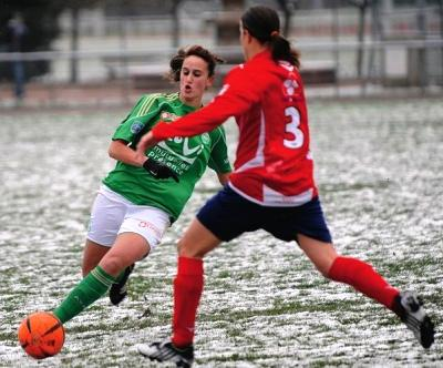 Hamraoui donne la victoire aux Vertes (photo : LP)