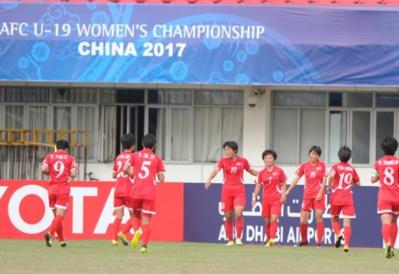 La Corée du Nord n'a jamais été en difficulté dans ce tournoi (photo AFC)