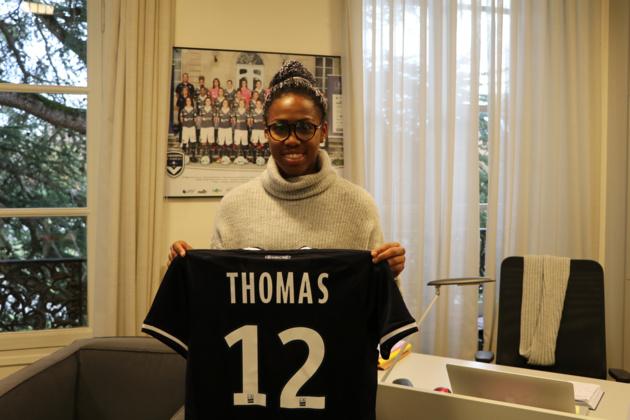 #D1F - Lindsey THOMAS prêtée par MONTPELLIER à BORDEAUX