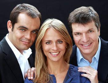 Jezabel Lemonier (au centre) et Christophe Pacaud (à droite)