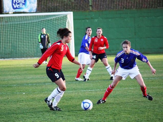La France s'impose 2 buts à 1 face à la Norvège (photos : Sébastien Duret)