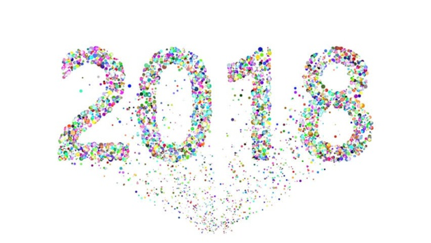 Bonne année et meilleurs voeux pour 2018