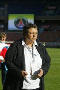 La présidente du FCF Juvisy