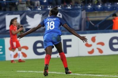 Asseyi avait offert la victoire à Valenciennes contre l'Angleterre