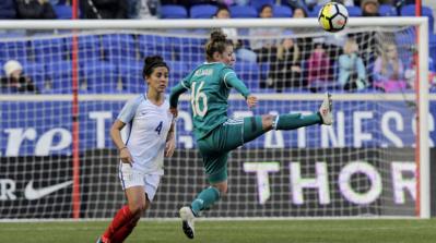 #SheBelievesCup - Du spectacle, des buts, mais pas de vainqueur entre l'Angleterre et l'Allemagne