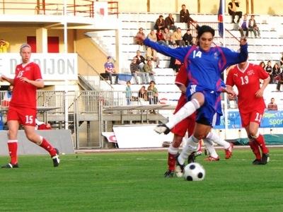 La dernière confrontation franco-suisse avait été remportée 1-0 (photo : Sébastien Duret)