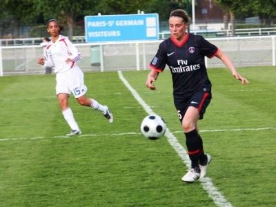 Prévost a égalisé pour le PSG (photo : Sébastien Duret)