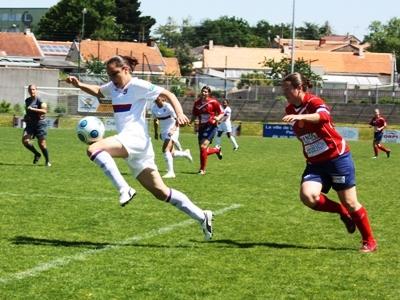 Brétigny passeuse décisive (photo : Sébastien Duret)