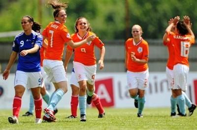 La joie hollandaise contraste avec la déception de Crammer (photo : FFM)