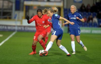 Gauvin n'a pas trouvé la faille (photo Chelsea LFC)