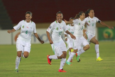 Les Algériennes poursuivent l'aventure (photo JWSports1)