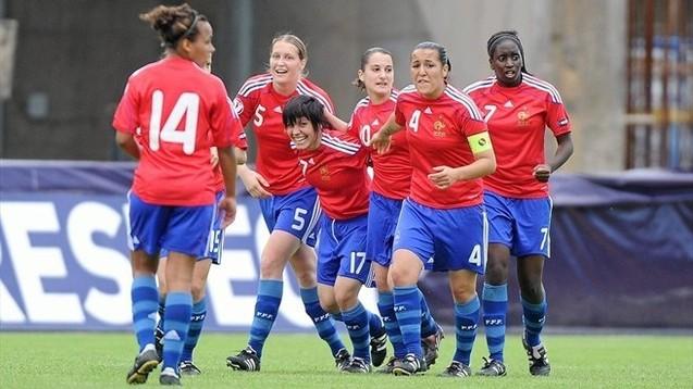 Lavaud avait égalisé pour les Bleuettes (photo : uefa.com)
