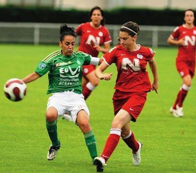 Bengueddoudj et Saint-Etienne s'incline à Feurs (photo : PQR)
