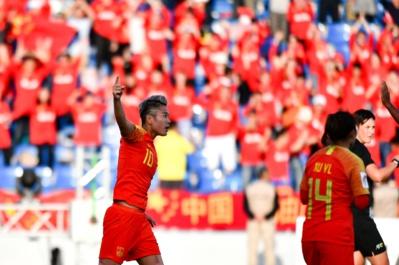 Li Ying, meilleure buteuse de la compétition (photo AFC)