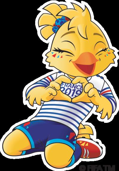 Coupe du Monde 2019 - Ettie, la mascotte dévoilée