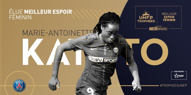 #D1F - Trophées UNFP : Dzsenifer MAROZSAN meilleure joueuse, Marie-Antoinette KATOTO meilleure espoir