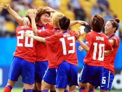 La joie sudcoréenne après été mené 1-2 (photo : fifa.com)