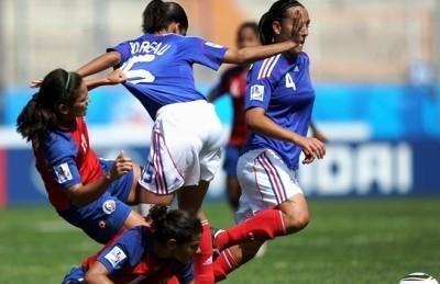 Les Françaises auront été en difficulté (photo : fifa.com)