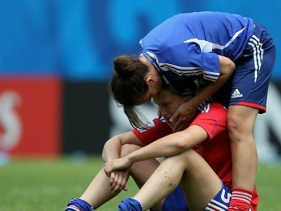 La déception tricolore (photo : fifa.com)