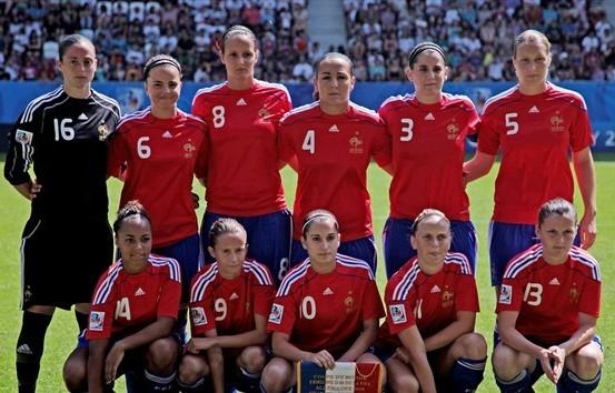 Le onze tricolore (photo : fifa.com)