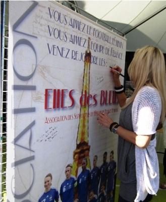 Les Elles des Bleus : l'association de supporters des Bleues