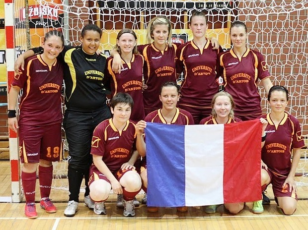 Championnat d'Europe universitaire de futsal : Artois Liévin s'incline en finale