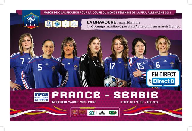 France - Serbie, les places en vente