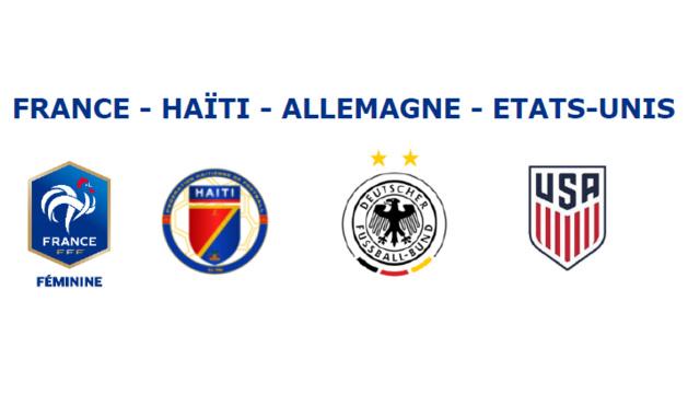 U20 - SUD LADIES CUP : la FRANCE débute face à HAÏTI