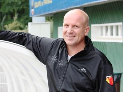Xavier Aubert, l'entraîneur manceau