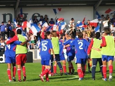 L'Islande laisse de bon souvenir aux Bleues comme ici à La Roche sur Yon