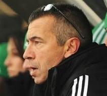 Hervé Didier, entraîneur de l'ASSE