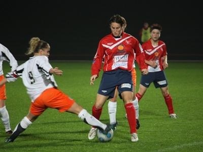 Claire Guillard a été la meilleure réalisatrice du club la saison passée avec 11 buts