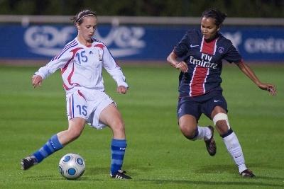 France U19 et Paris St-Germain dos à dos