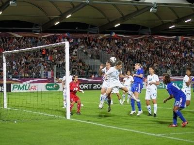 Soubeyrand avertie sera absente au match retour (photos : Patrick Blond)