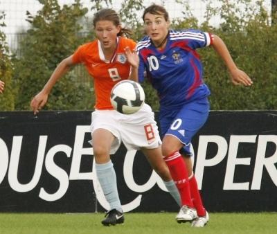 Claire Lavogez (photo : Léo Soeters/Vrouwenvoetbalnederland)