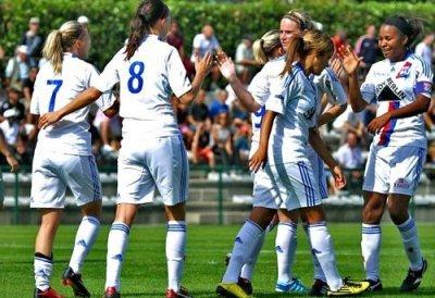 Les Lyonnaises rentrent à la maison avec une courte mais précieuse victoire (Crédit photo olweb)