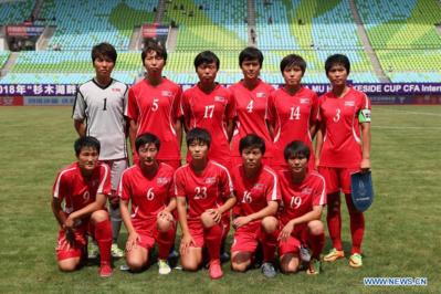 Le onze nord-coréen le 4 juillet dernier face à la Thaïlande (7-0)