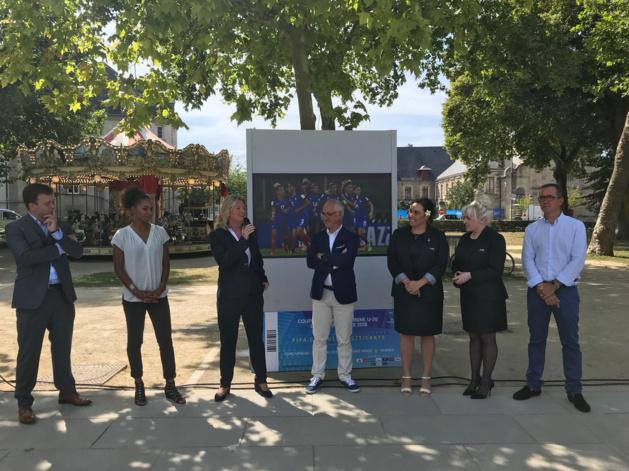 #U20WWC - Le lancement donné à Vannes