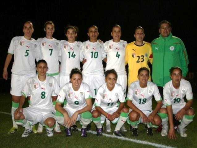 La sélection algérienne s'est préparée en France (photo : Dean Whittaker)