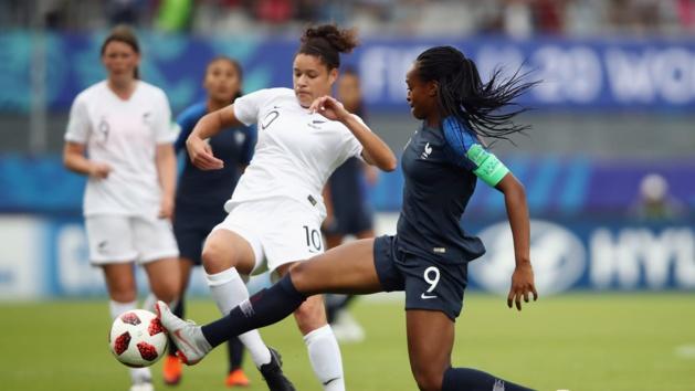 Katoto et les Bleuettes sont restées muettes (photo FIFA.com)