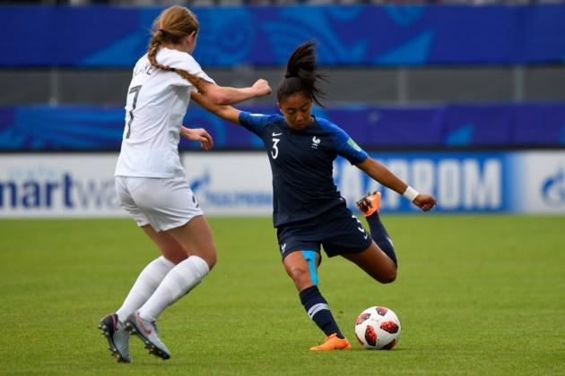 Selma Bacha élue joueuse du match