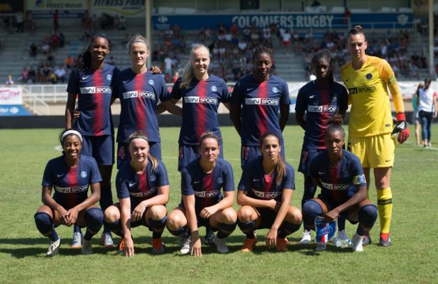 Le XI du PSG face à Arsenal (photo PSG)