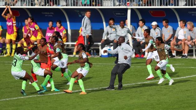 Le Nigeria, dernier représentant africain (photo FIFA.com)