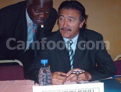 En 2006 au Cameroun, lors d'un forum sur la relance du football camerounais