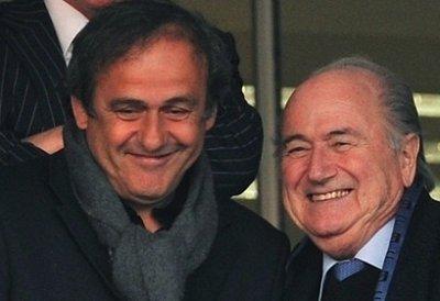 Platini, son mentor, Blatter, son patron...